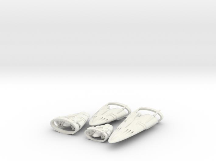 Slipstream E Legacy Set 1-2-3-4 3d printed