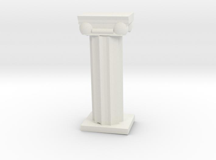Greek Column 3d printed