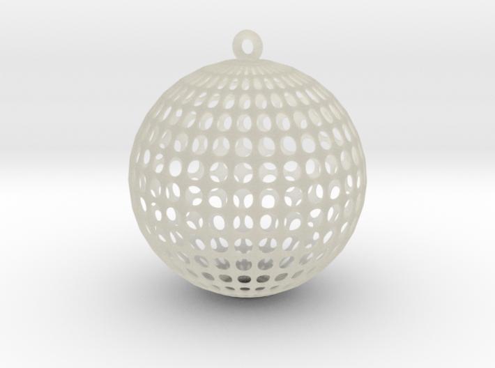 Planet Voronoi 3d printed