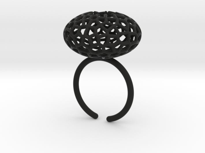 Star Coral Ring sz 9 3d printed