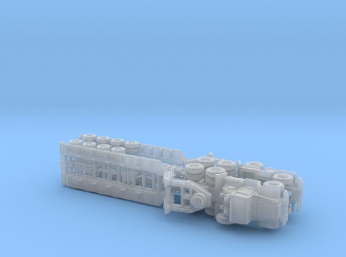 M123 Tractor w. M747 Tanktransporter 1/285 3d printed