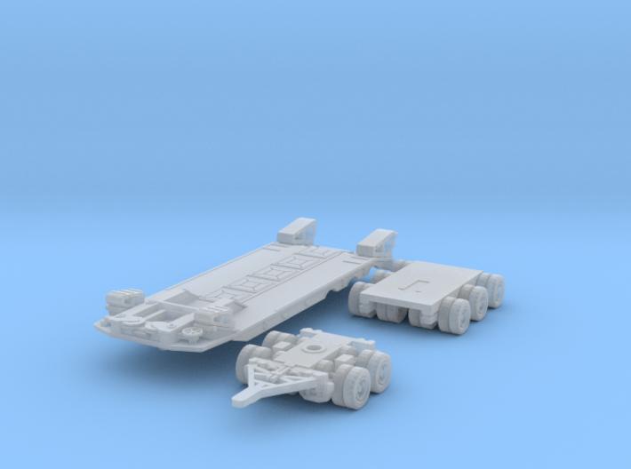 Transporta P-50 (1/144) 3d printed
