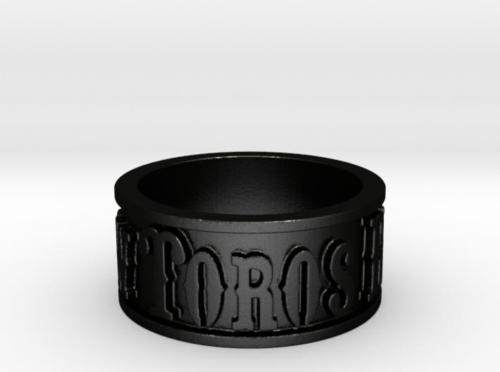 Toros Band (Size 10) 3d printed