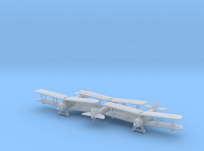 1/285 Armstrong Whitworth FK8 x3 3d printed