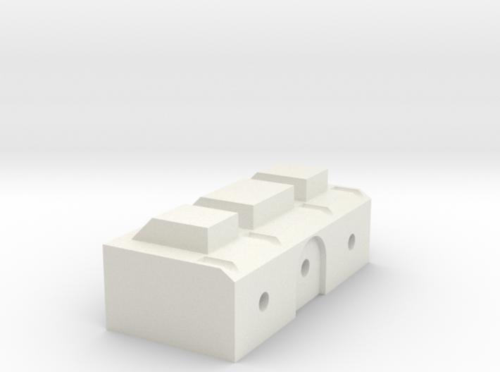 Back Block 3d printed