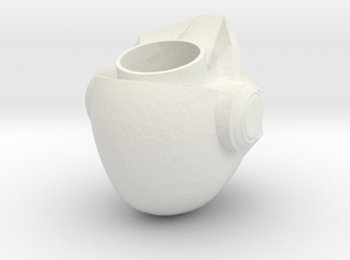 Hollow Head 3d printed