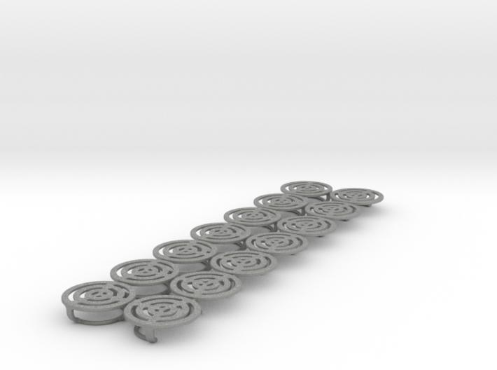 06: MirrorProtectionCap 14x Size 0/ 14 mm diameter 3d printed