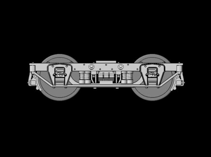 HOn3 - Carter Bros. Original Passenger Car Trucks 3d printed