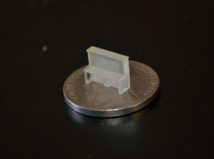 N-Scale Pamies Piano 3d printed Production Sample