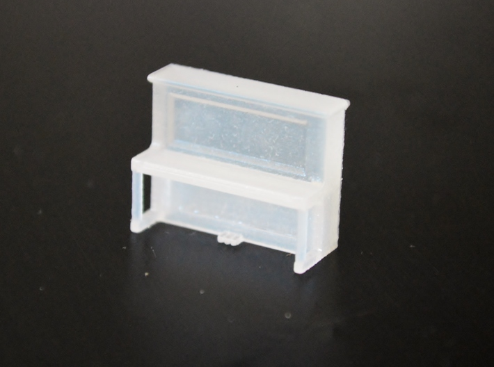 HO-Scale Pamie's Piano 3d printed Production Sample