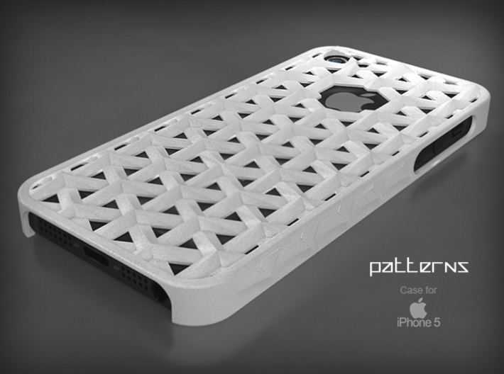 "Iphone 5, 5S ""Patterns"" Cover Case 3d printed"