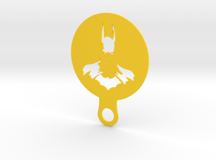 Coffee Stencil - Batman 3d printed
