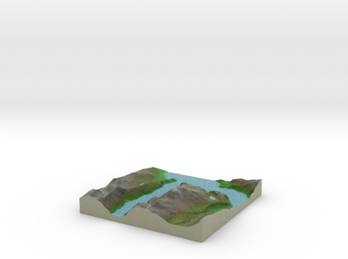 Terrafab generated model Tue Aug 05 2014 17:42:56 3d printed
