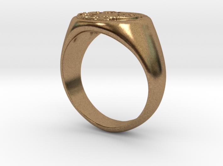 Size 9 Targaryen Ring 3d printed
