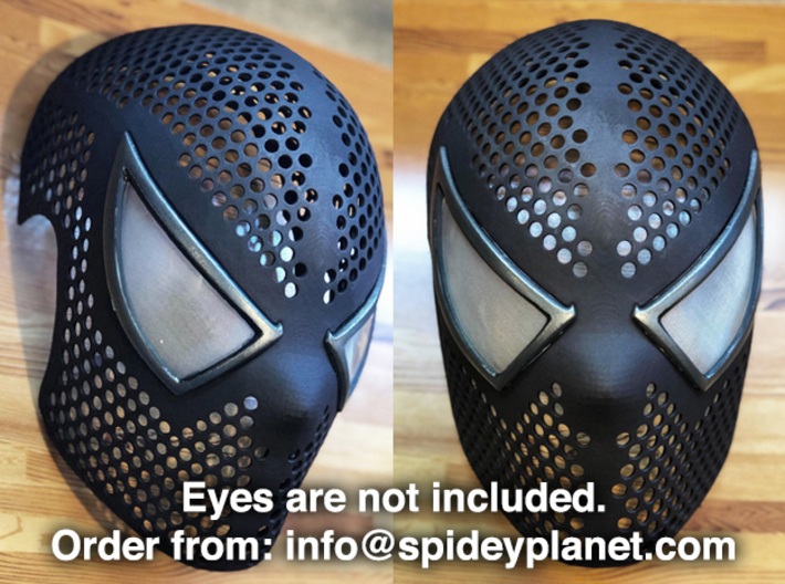 Black Suit Face Shell  - 100% Accurate Raimi Mask 3d printed