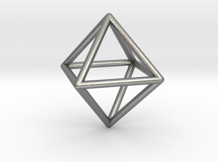 Simple Wireframed Octahedron 3d printed