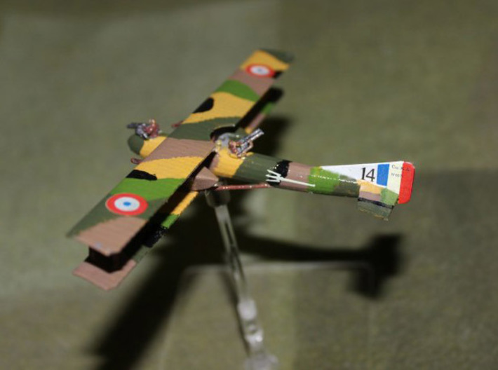 Caudron R.11 (various scales) 3d printed Photo and paint job courtesy BobP at wingsofwar.org