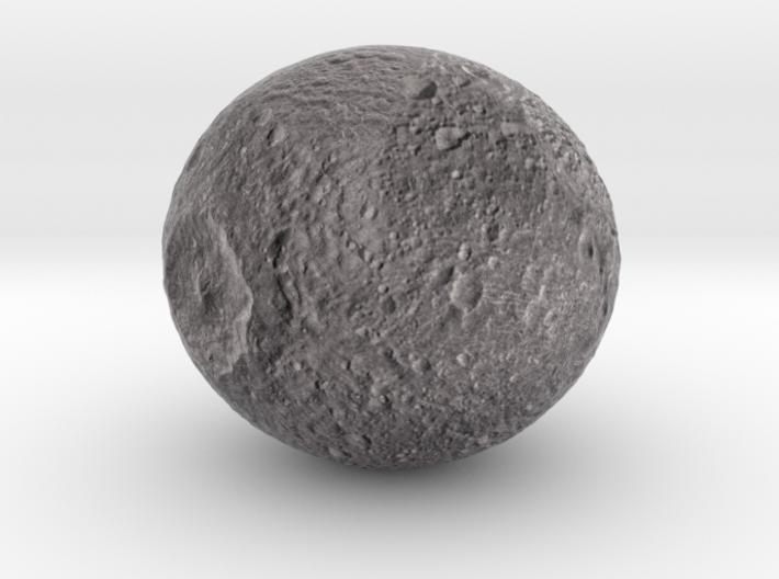 "Mimas /12"" Moon globe addon 3d printed"