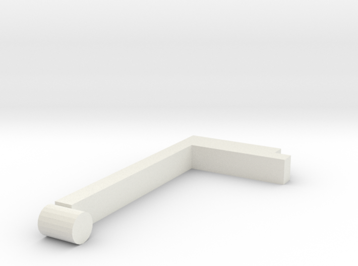 Right handle 3d printed