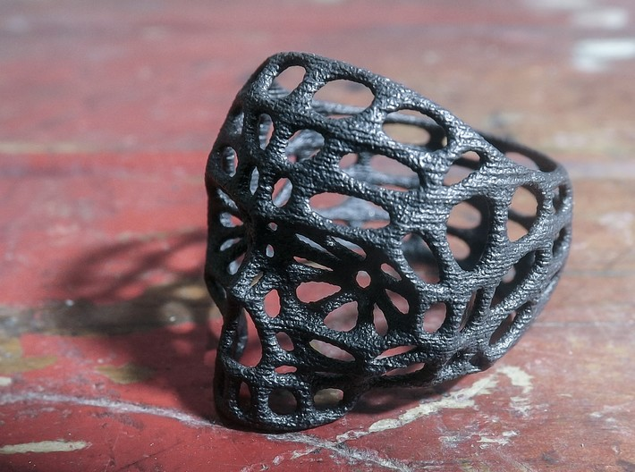 Hollow Skull - Size 10 (inner diameter = 19.76 mm) 3d printed