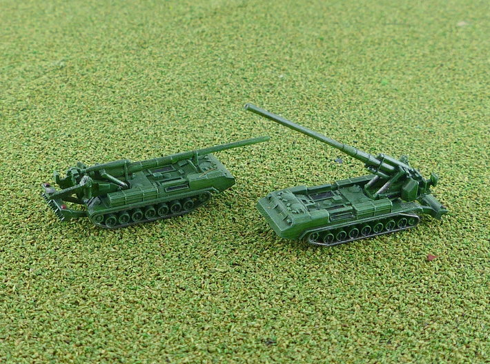 2S7 Pion 203mm SPG 1/285 / 6mm 3d printed