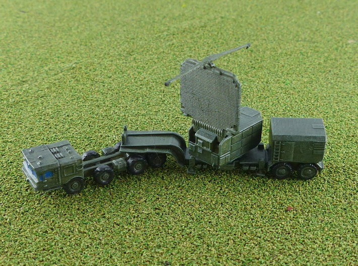 64N6E Big Bird Radar w. MZKT Tractor 1/285 3d printed