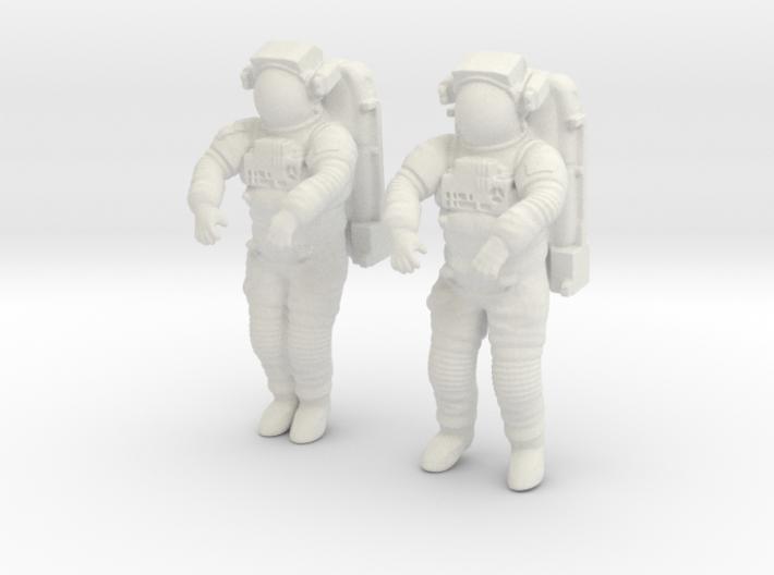 NASA Astronaut EMU (1:48 Double Pack) 3d printed