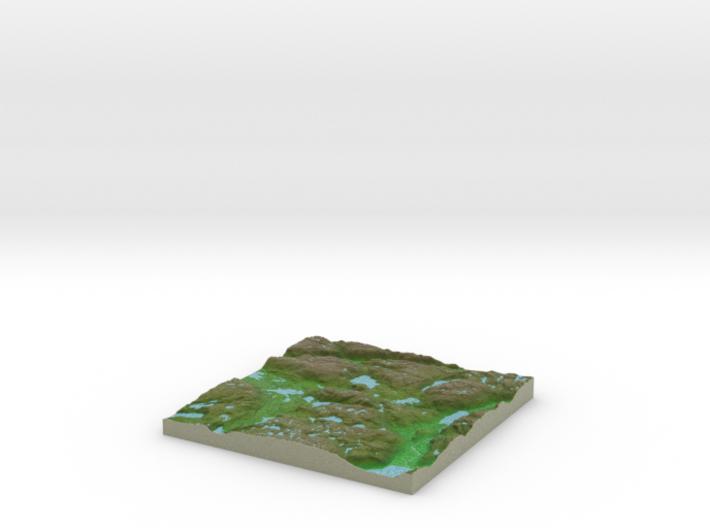 Terrafab generated model Wed Aug 06 2014 16:23:03 3d printed