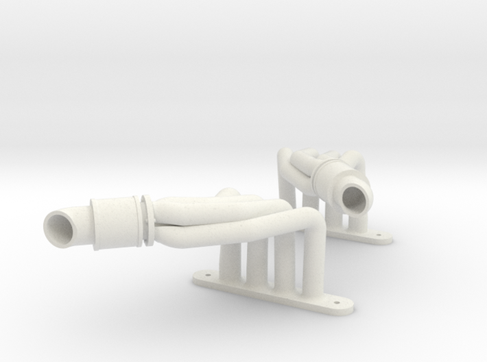 Another Magnaflow-styled Header (Pair) 3d printed