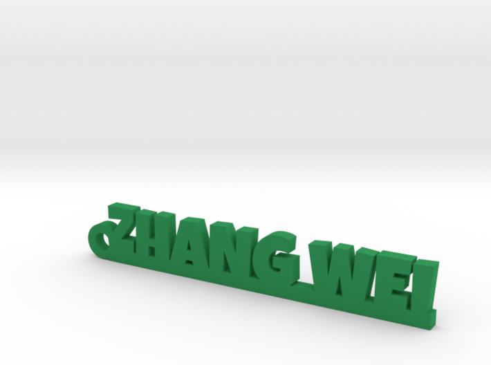 ZHANG WEI_keychain_Lucky 3d printed