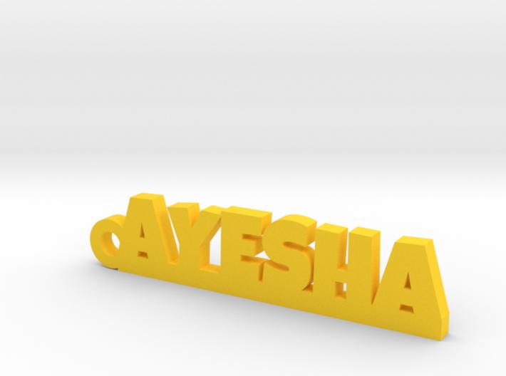 AYESHA_keychain_Lucky 3d printed