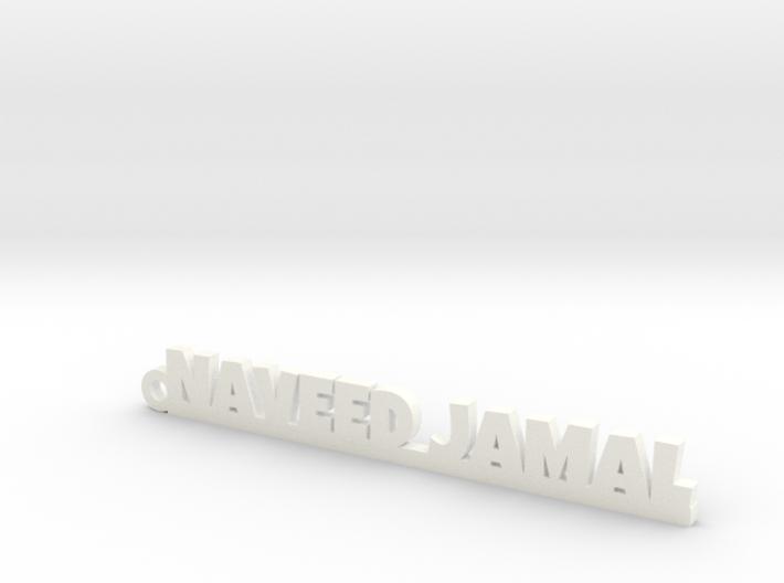NAVEED JAMAL_keychain_Lucky 3d printed
