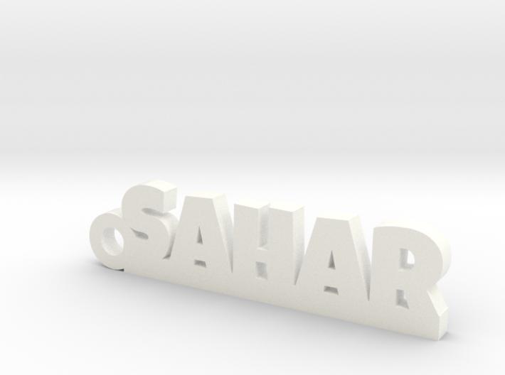 SAHAR_keychain_Lucky 3d printed