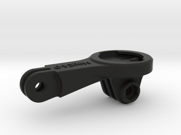 Wahoo Elemnt GoPro BMC Mount - Long 3d printed