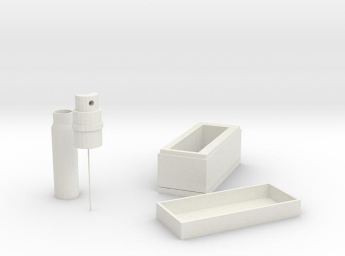 Epidemic prevention storage box 3d printed