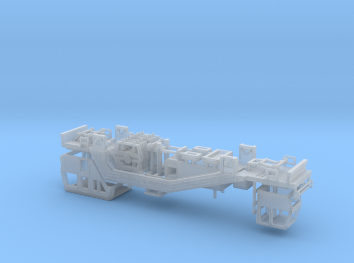 1:220 Plasser Theurer Gleisstopfmaschine 08 19 DB 3d printed