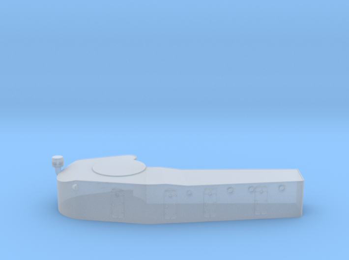 1/600 IJN Kagero Deck House 3d printed