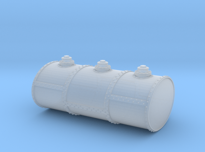 HO Scale Three Cell Fuel Tank 3d printed