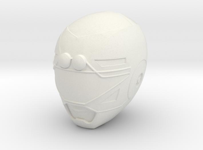 Turbo Yellow Helmet LC 3d printed