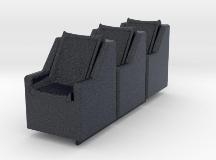 SPACE 2999 EAGLE MATTEL SEATS 3d printed
