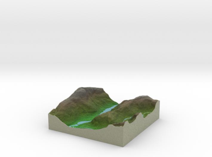 Terrafab generated model Wed Aug 06 2014 20:35:48 3d printed