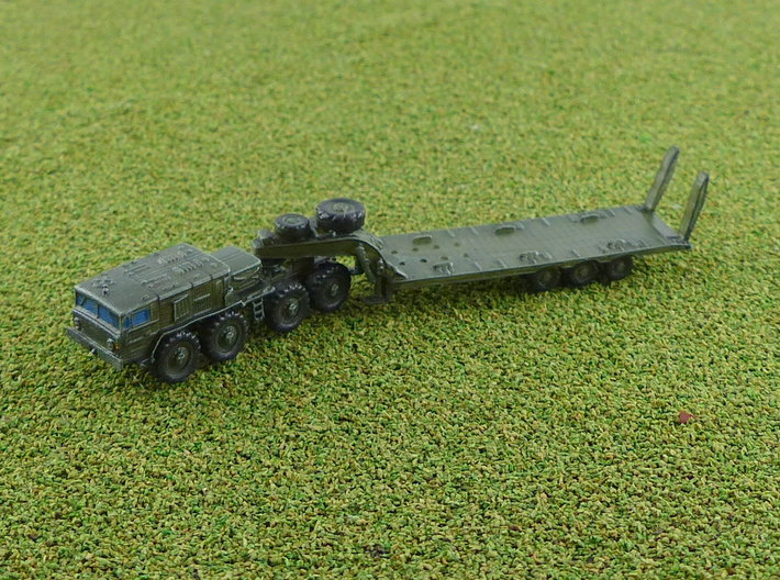 MAZ 537G late w. CHmZAP 9990 Trailer 1/285 3d printed