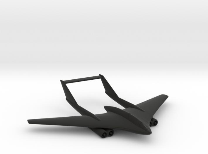 F-209U Martlet Flying-Wing Fighter 3d printed