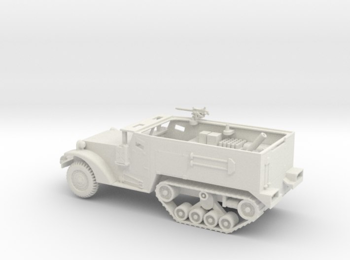 1/72 Scale M4A2 Mortar Carrier 3d printed