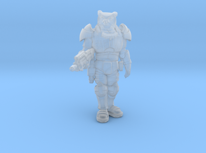 Another Owl Warior 3d printed
