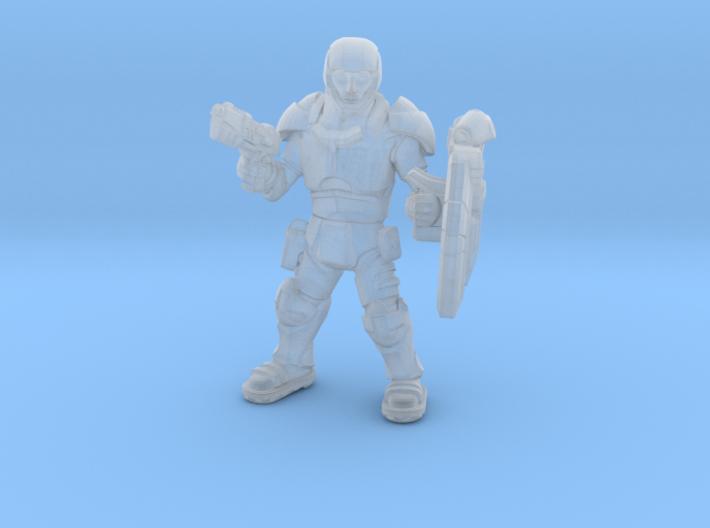 SpaceSoldier 3d printed