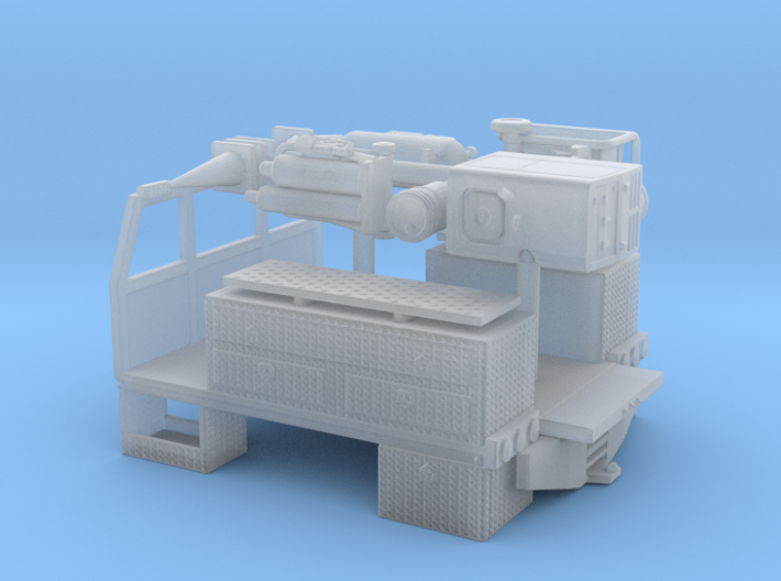 1/87th 8' long pickup sized service bed 3d printed