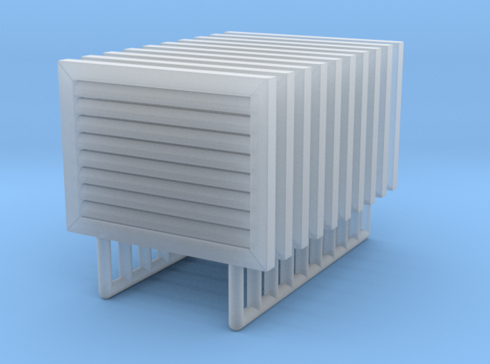 Vent Cover 01. 1:24 Scale 3d printed