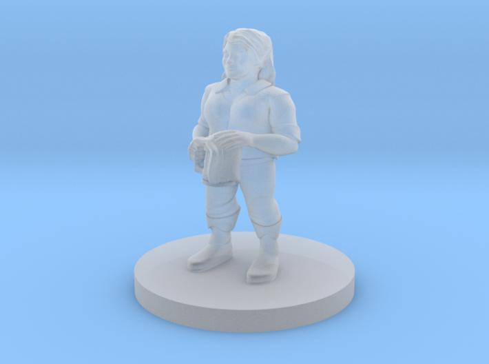 Dwarf Female Barkeep 3d printed