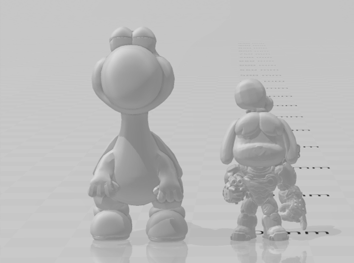 Yoshi classic 36mm miniature fantasy games and rpg 3d printed